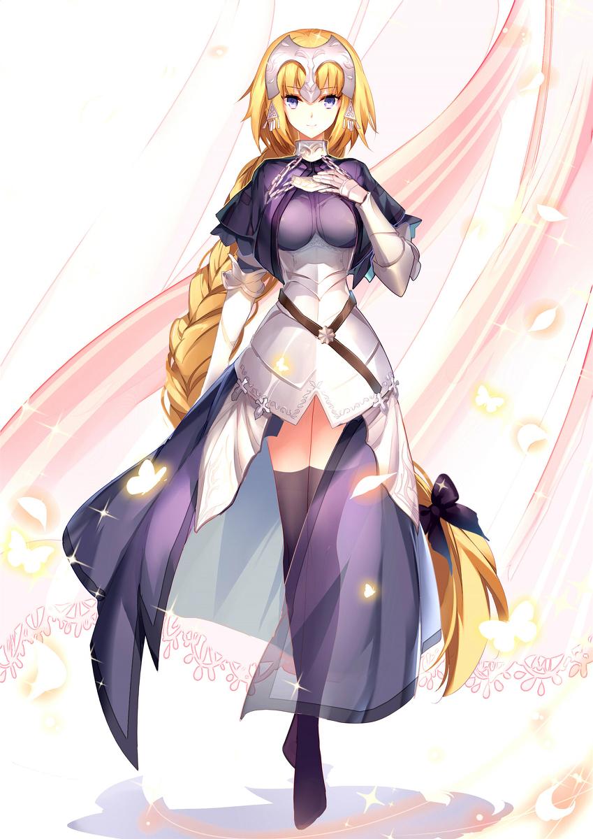 ジャンヌ・ダルク,Jeanne d´Arc,贞德,La Pucelle,Holy Maiden Savior,圣女,Fate/Zero,Fate/Grand Order,Fate,TYPE-MOON