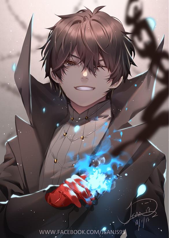 Tags: Anime, jean3157, Shin Megami Tensei: PERSONA 5, Joker (Persona 5), Amamiya Ren (Persona 5), Fanart From Pixiv, Pixiv, Fanart