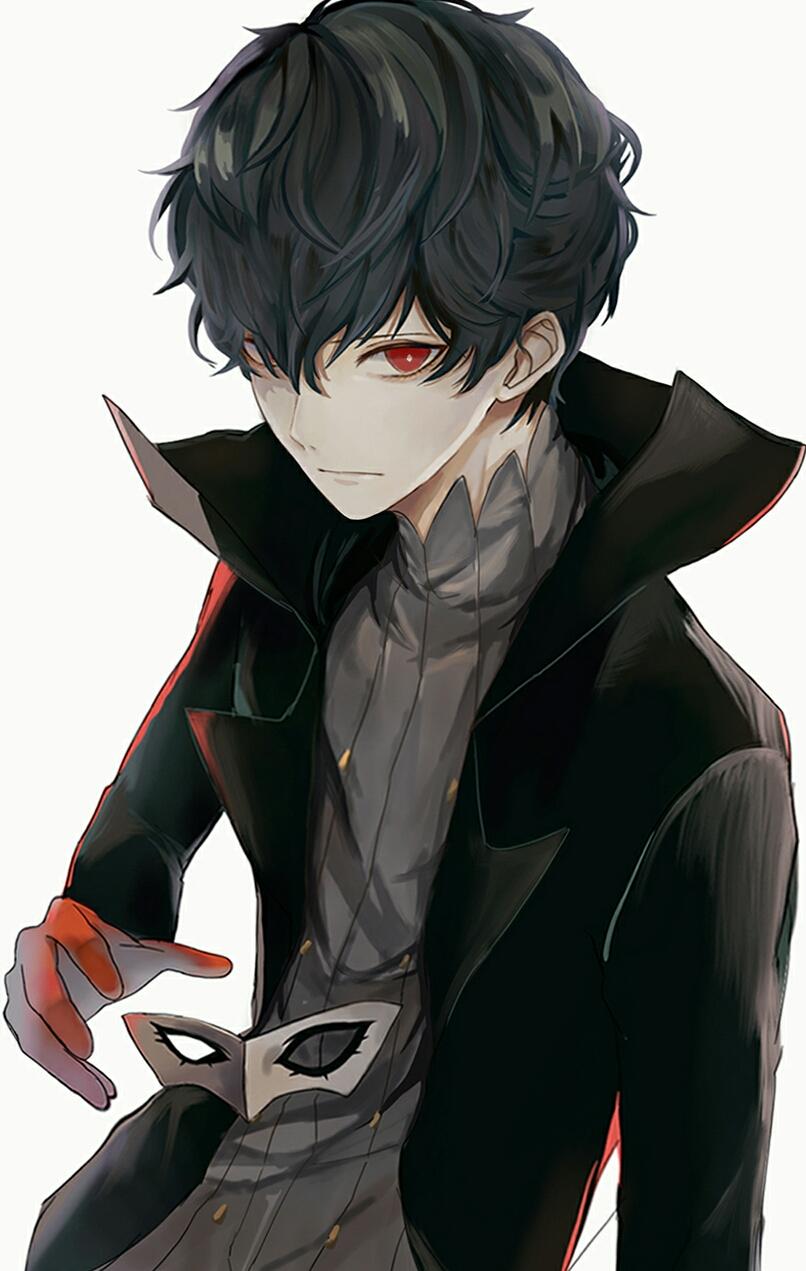 Joker (Persona 5) P E R S O N A (Kurusu Akira) イラスト, ペル