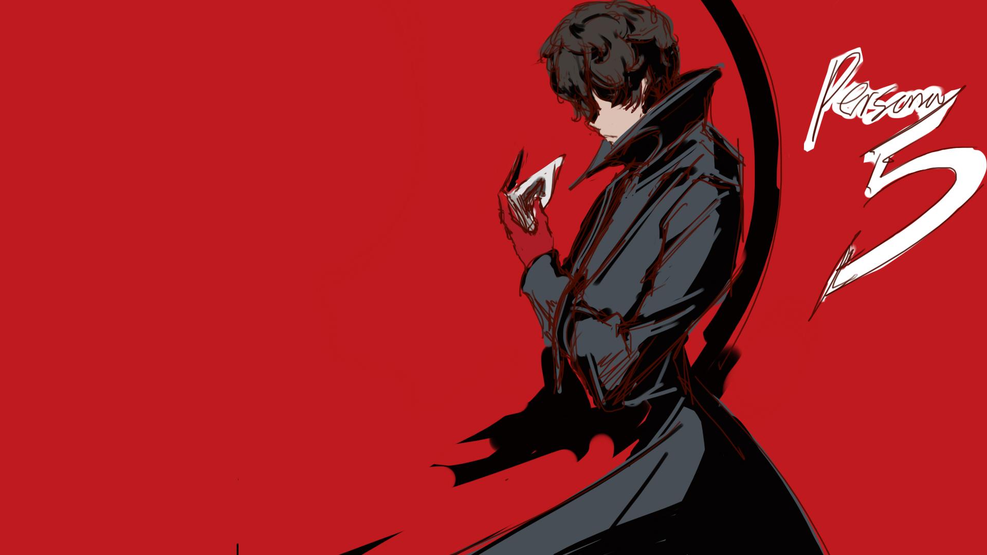 Joker (Persona 5) - Amamiya Ren (Persona 5) - Wallpaper