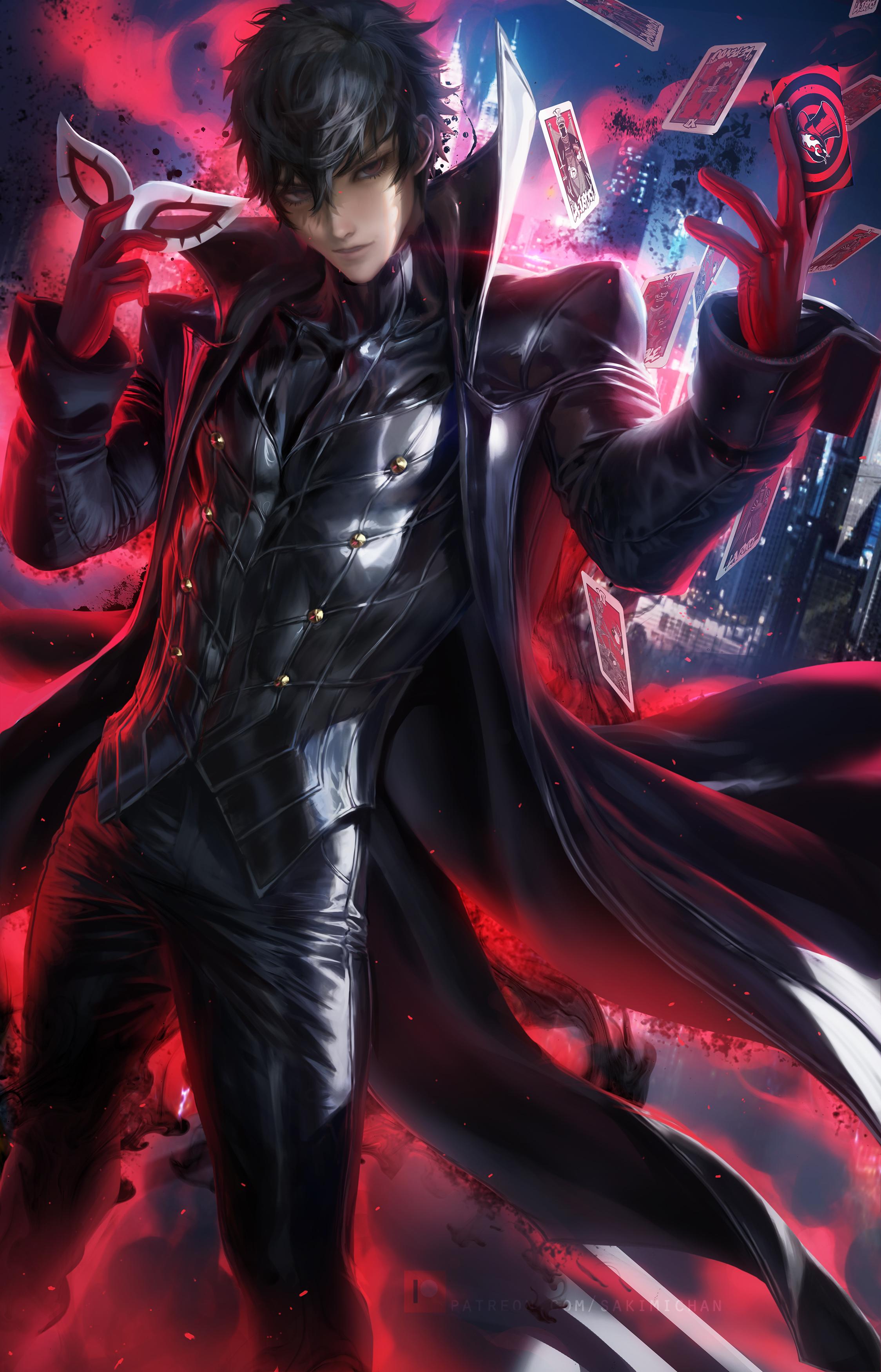 Joker (Persona 5) - Amamiya Ren (Persona 5) - Image #2565432