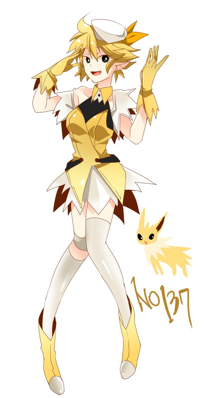 Jolteon Pok 233 Mon Image 1091852 Zerochan Anime Image Board