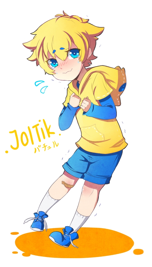 Tags: Anime, Jin-nyeh, Pokémon, Joltik, Trembling, Mobile Wallpaper, Fanart, Tumblr