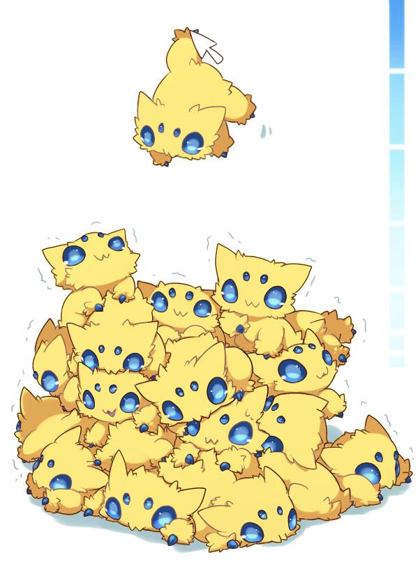 Tags: Anime, Kuo, Pokémon, Joltik, Fanart, Pixiv