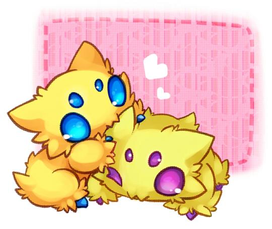 Tags: Anime, Kuo, Pokémon, Joltik, Pixiv, Shiny Pokémon, Fanart