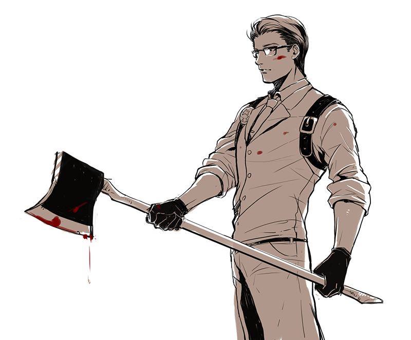 Tags: Ojisan, The Evil Within, Joseph Oda