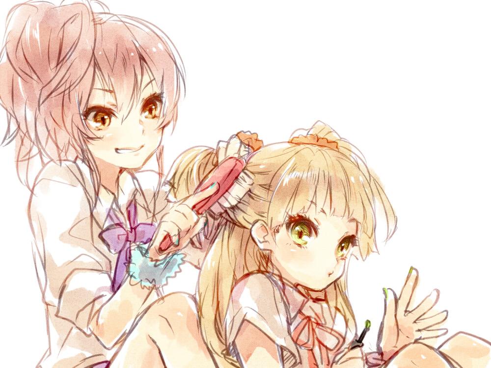 Аниме картинки сестренки