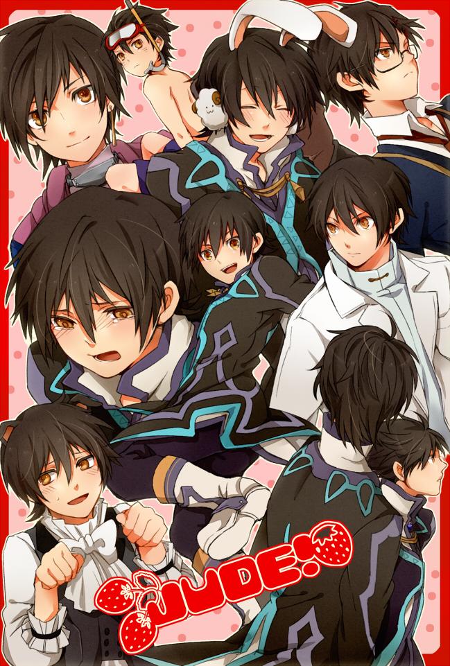 Tags: Anime, Rouki Isago, Tales of Xillia, Jude Mathis, Snorkel, Leon Magnus (Cosplay), Mobile Wallpaper, Pixiv, Fanart