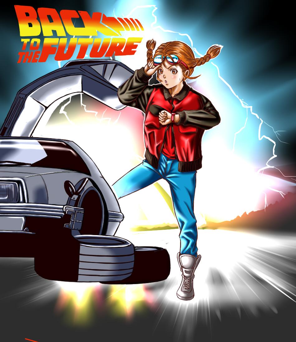 back to the future zerochan anime image board