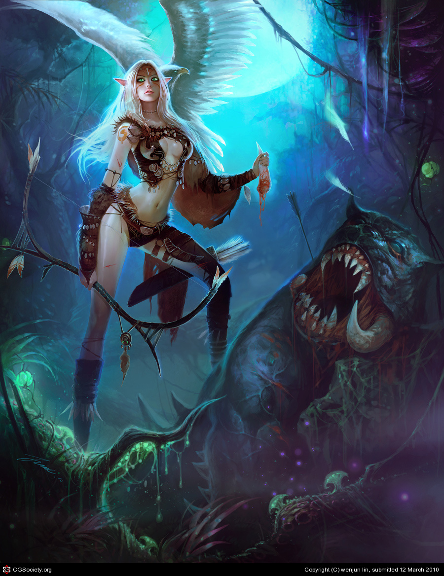 Elf woman solo nude gallery