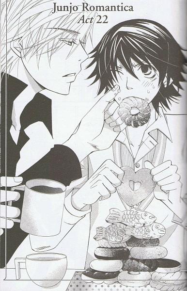 Junjou Romantica Mobile Wallpaper #879489 - Zerochan Anime ...