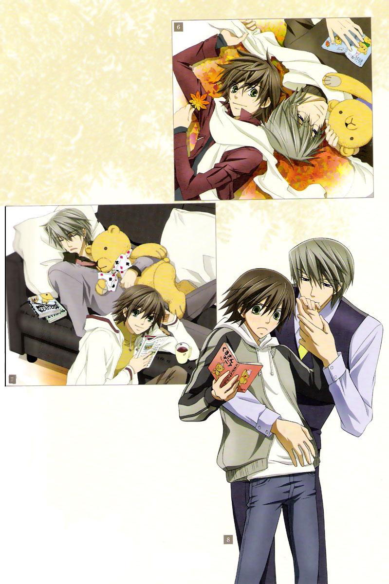 Junjou Romantica Mobile Wallpaper #1156248 - Zerochan ...