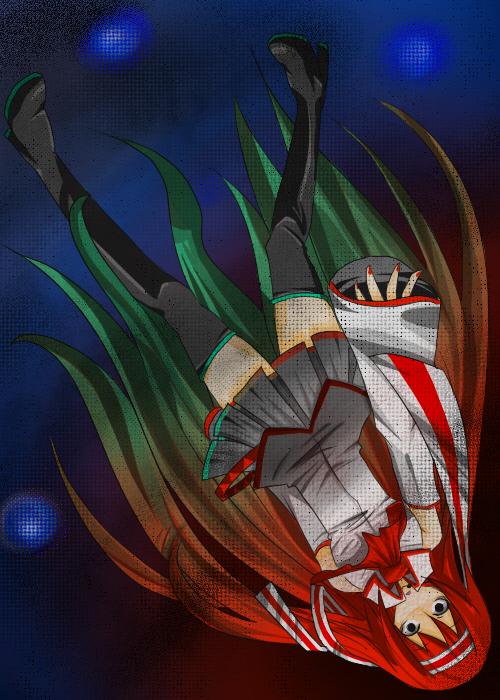 Tags: Anime, Pixiv Id 260575, VOCALOID, Juon Kiku, Character Fusion, Yandereloid