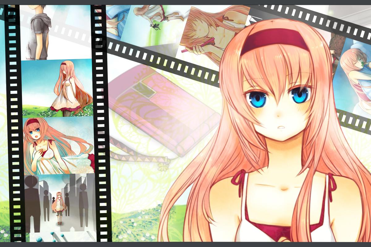 Vocaloid Wallpaper Luka Just Be Friends