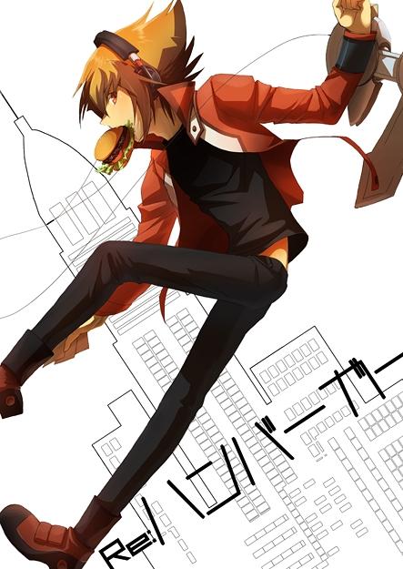 Tags: Anime, Egawa Akira, Yu-Gi-Oh!, Yu-Gi-Oh! GX, Juudai Yuuki, Tower, Skyscraper, Pixiv, Fanart, Mobile Wallpaper, Jaden Yuki