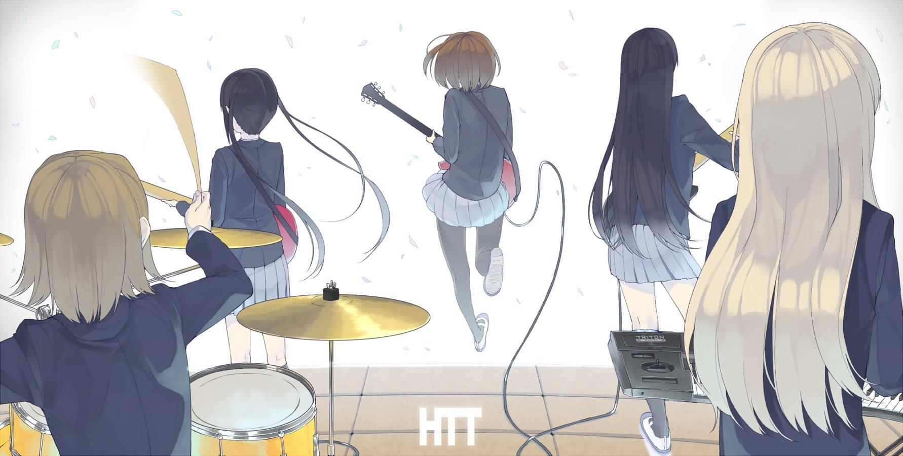 View Fullsize K-ON  Image  K On Tsumugi Keyboard