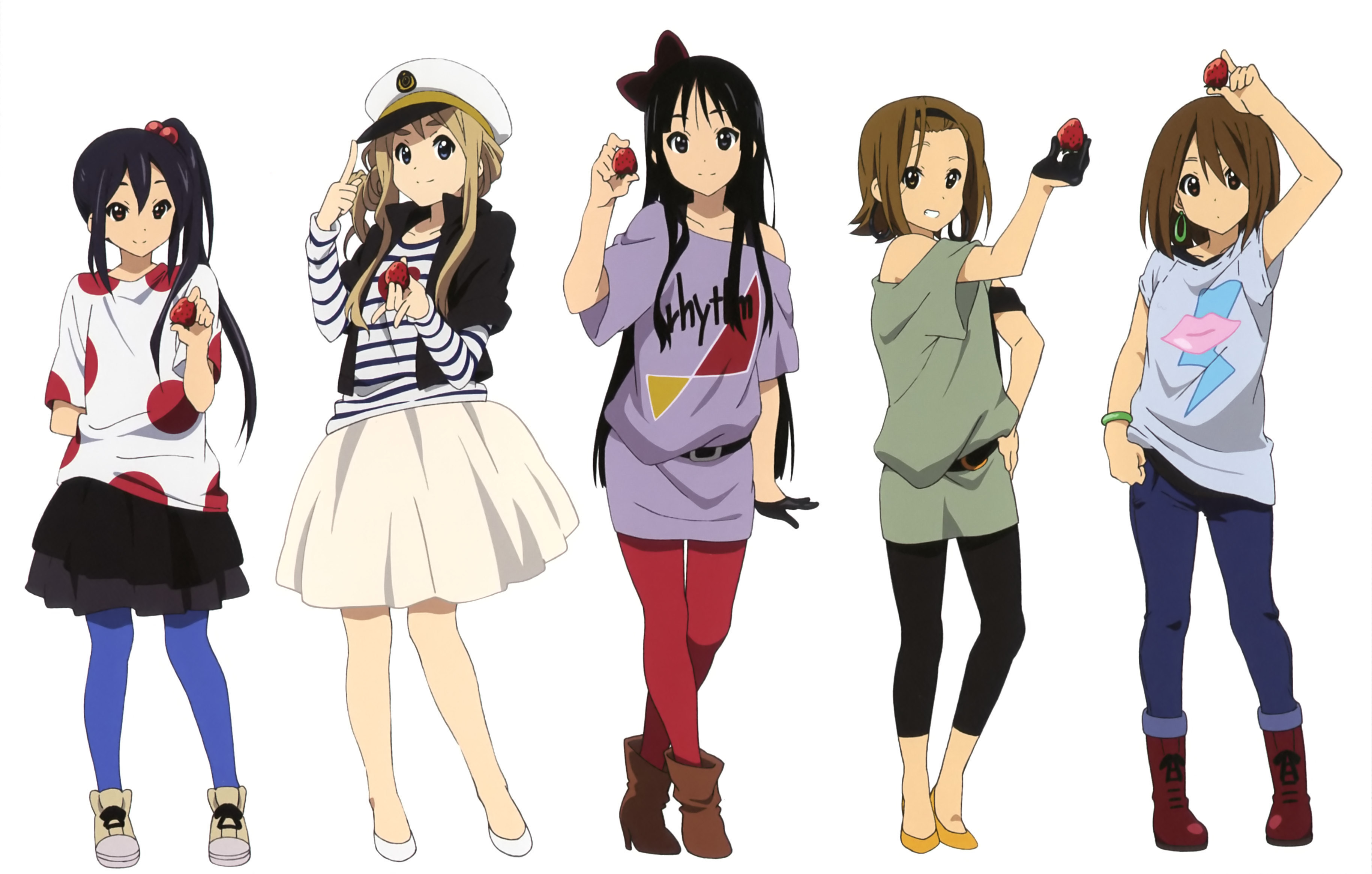 K-ON!, Official Art - Zerochan...