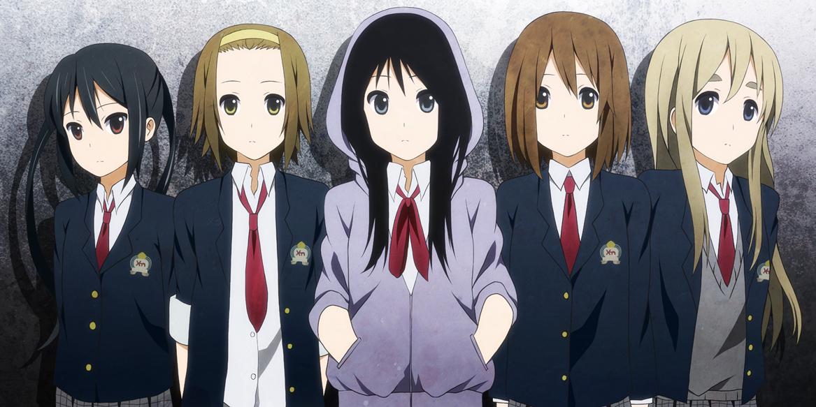 Kyoto Animation, K-ON!, Akiyama Mio ...