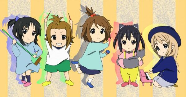 Tags: Anime, Pixiv Id 712382, K-ON!, Tainaka Ritsu, Kotobuki Tsumugi, Akiyama Mio, Nakano Azusa