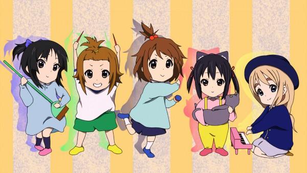 Tags: Anime, K-ON!, Hirasawa Yui, Akiyama Mio, Kotobuki Tsumugi, Tainaka Ritsu, Five Girls
