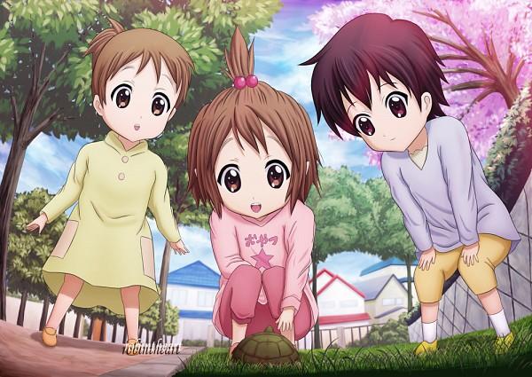 Tags: Anime, Pixiv Id 2613541, K-ON!, Hirasawa Yui, Manabe Nodoka, Hirasawa Ui, Little Girl