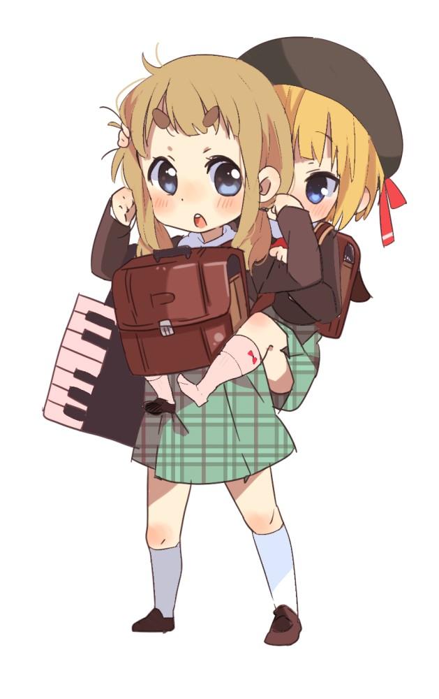 Tags: Anime, Sunameri Oishii, K-ON!, Saito Sumire, Kotobuki Tsumugi, Keyboard (Instrument), Mobile Wallpaper