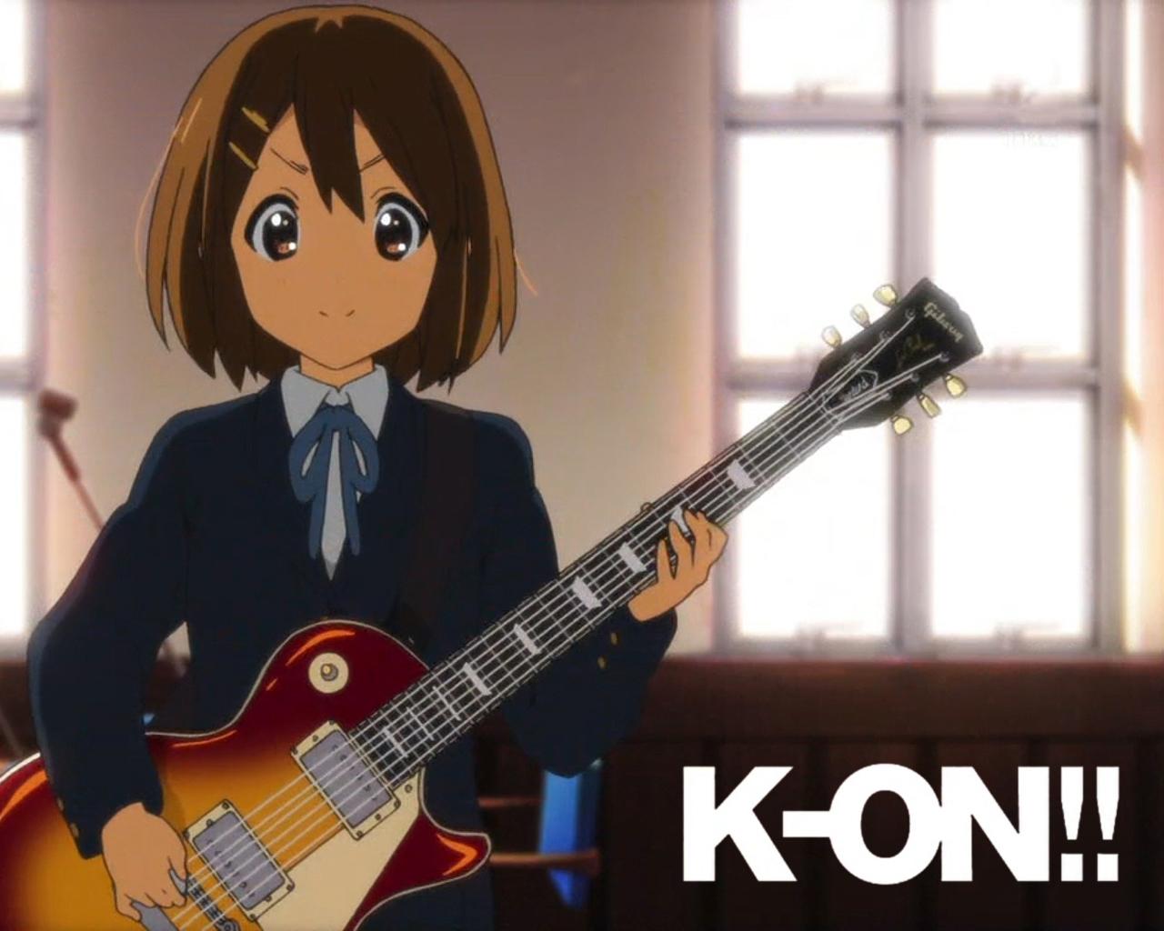 K-ON!/#234756 - Zerochan K On Yui Guitar