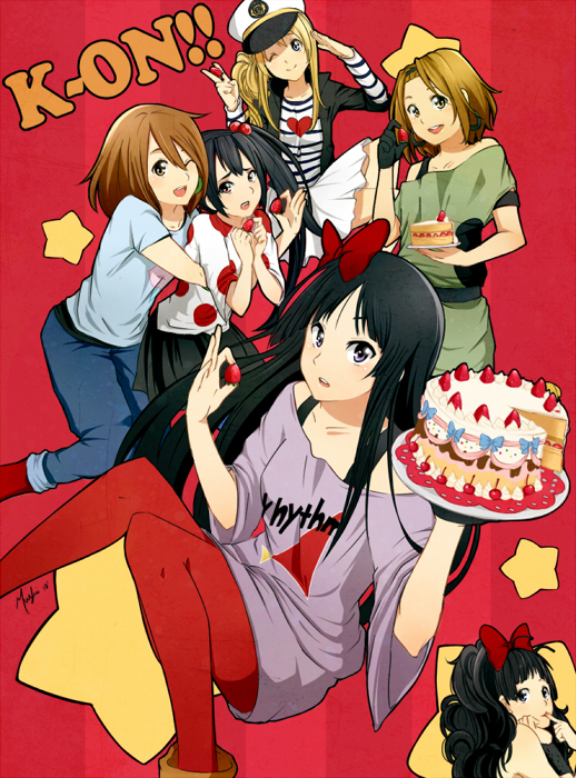 Tags: Anime, Chocographs, K-ON!, Akiyama Mio, Nakano Azusa, Hirasawa Yui, Tainaka Ritsu, Kotobuki Tsumugi, deviantART, Fanart, Fanart From DeviantART, Listen!!