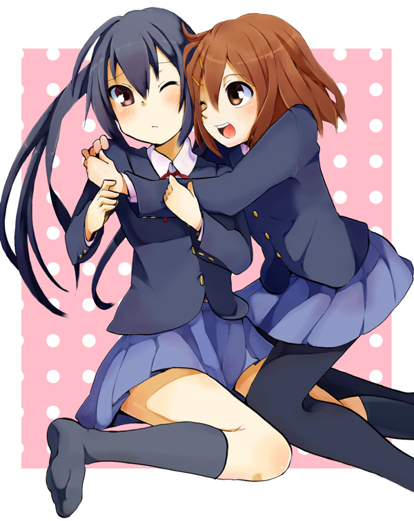 Tags: Anime, Suika (Pixiv 736747), K-ON!, Nakano Azusa, Hirasawa Yui