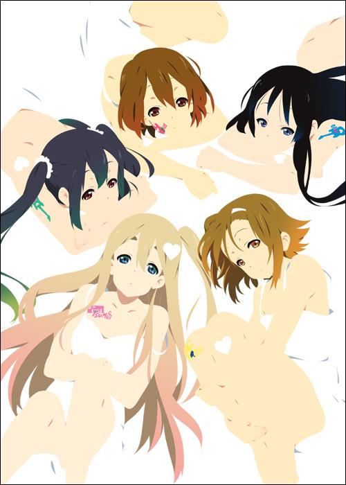 Tags: Anime, Mizuki Makoto, K-ON!, Akiyama Mio, Hirasawa Yui, Nakano Azusa, Tainaka Ritsu, Kotobuki Tsumugi, Fanart, Mobile Wallpaper
