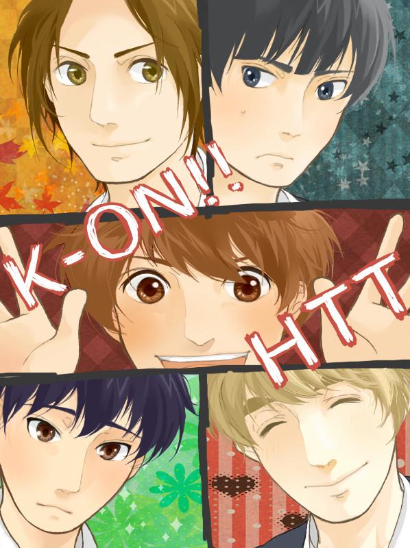 Tags: Anime, Pixiv Id 1367645, K-ON!, Kotobuki Tsumugi, Akiyama Mio, Nakano Azusa, Hirasawa Yui, Tainaka Ritsu, Pixiv, Fanart