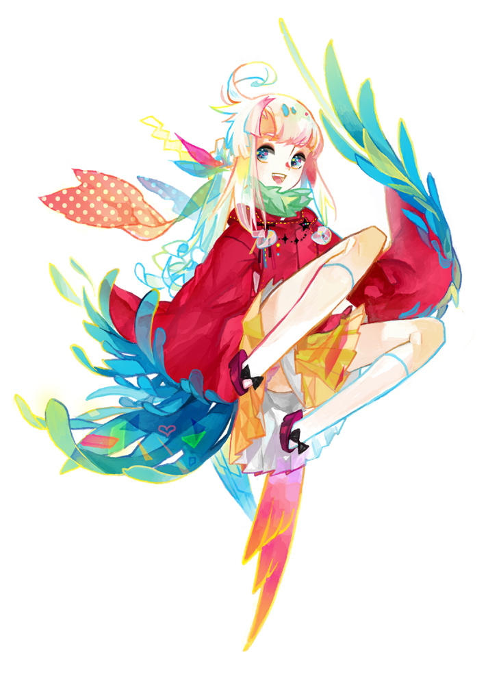 anime girls belts feathers - photo #45