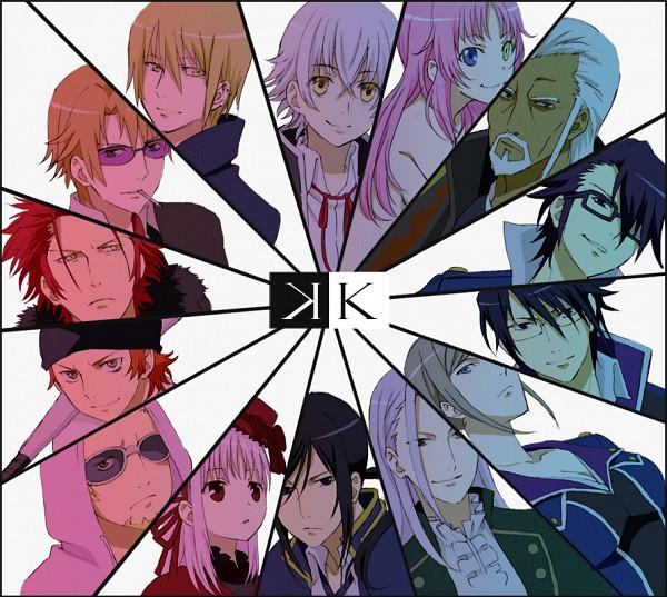 Tags: Anime, Pixiv Id 435716, K Project, Yata Misaki, Suoh Mikoto, Adolf K. Weismann, Awashima Seri