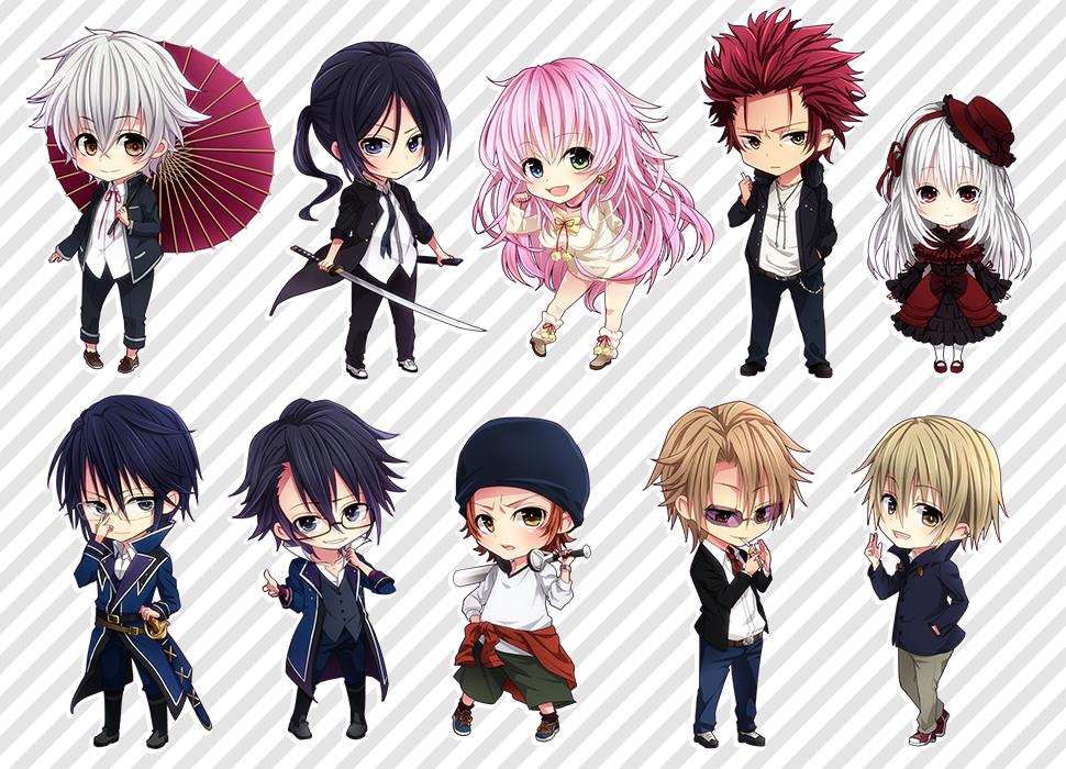 K Anime Characters Anna : K project image zerochan anime board