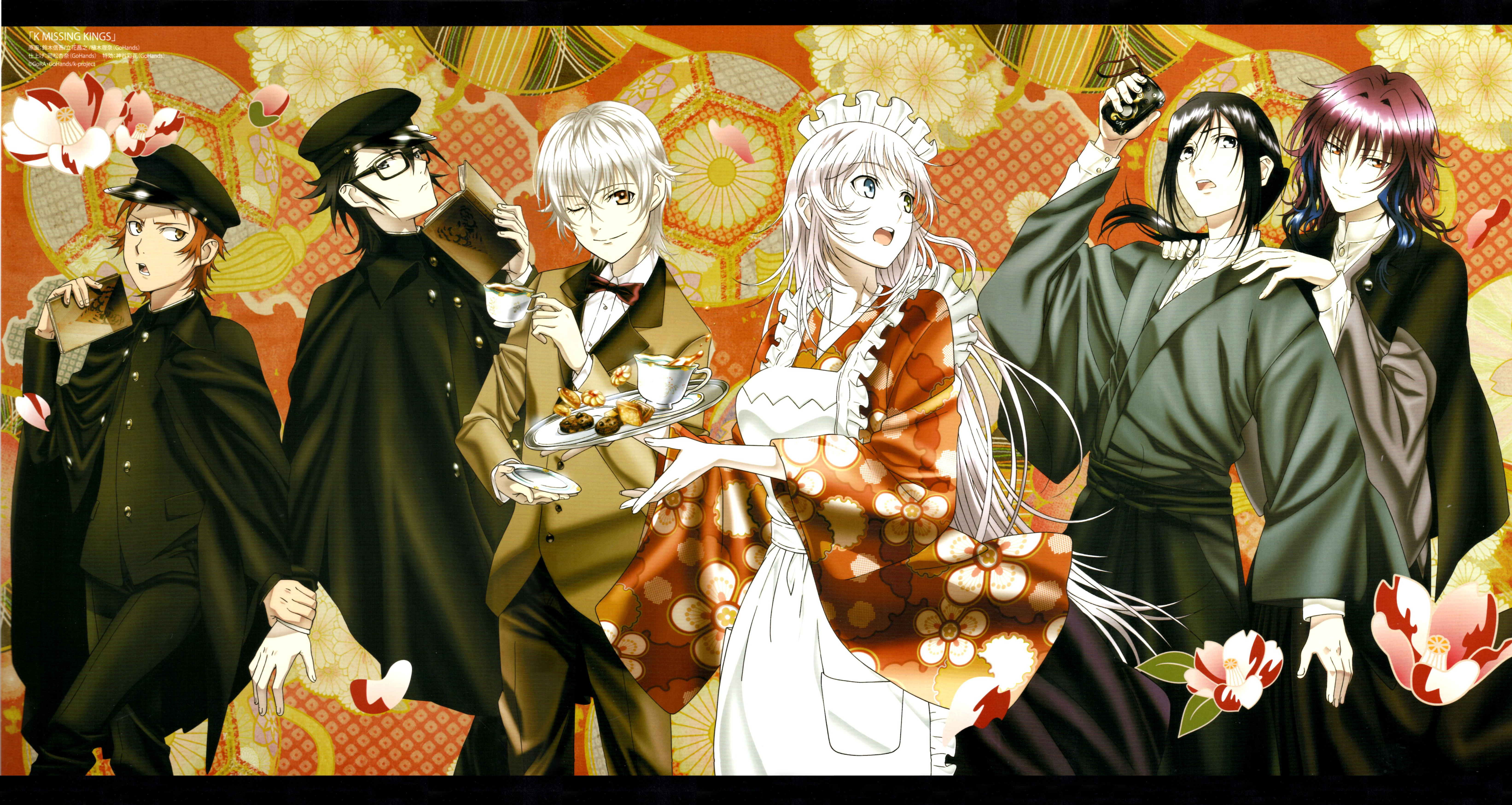 K Project Wallpaper Zerochan Anime Image Board