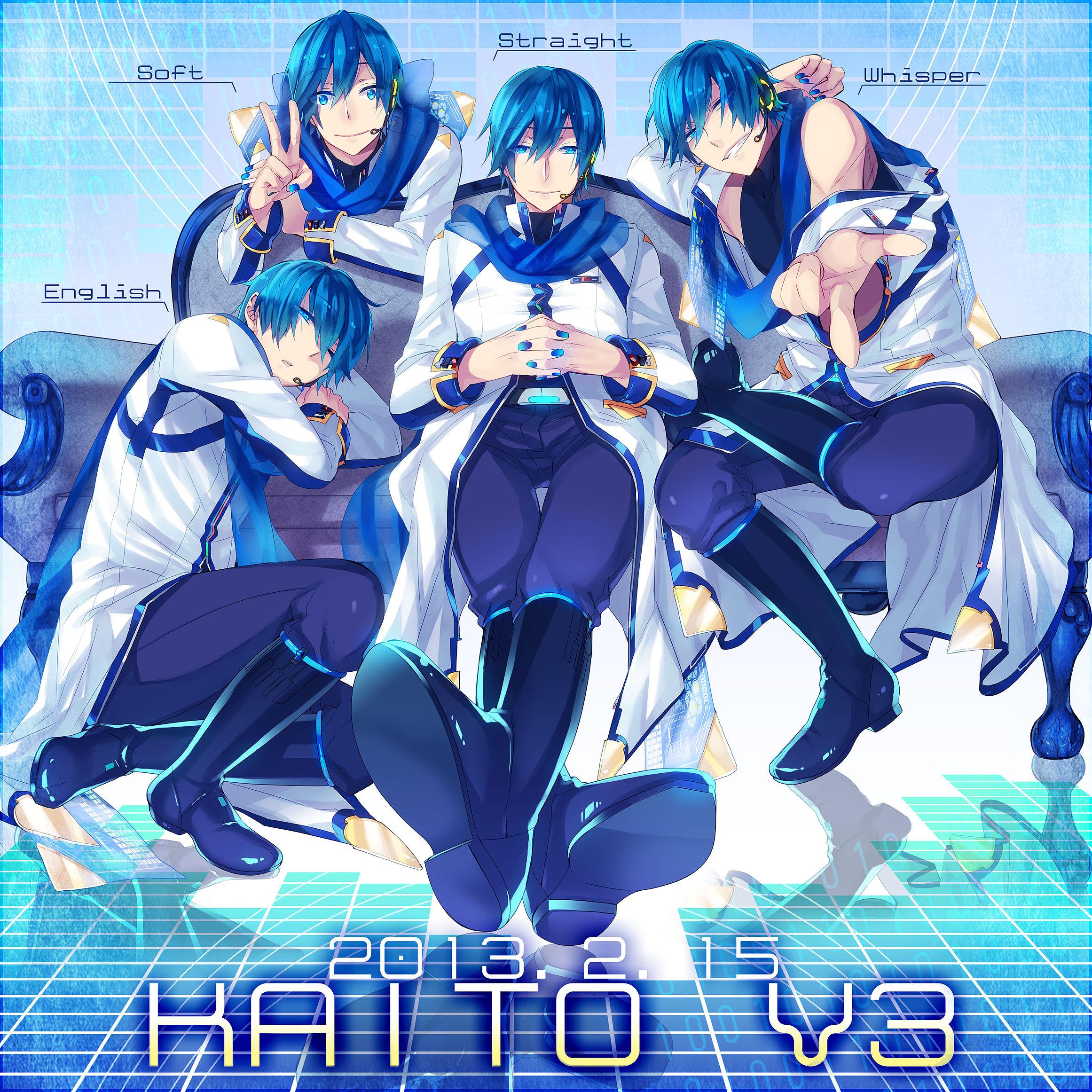 V3 - VOCALOID - Zerochan Anime Image Board Vocaloid Kaito Songs