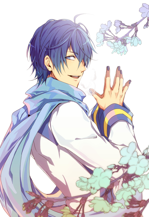 Tags: Anime, Domco, VOCALOID, KAITO, Fanart From Pixiv, Fanart, Pixiv, Mobile Wallpaper