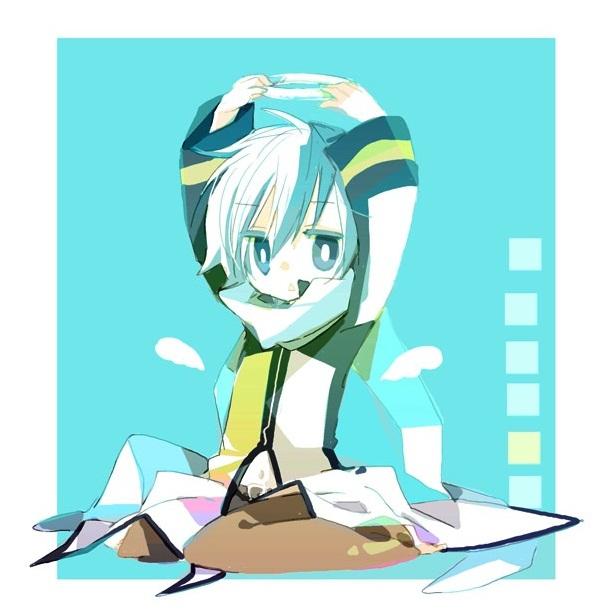 Tags: Anime, Yoshiki / 由杞, VOCALOID, KAITO, Fanart From Pixiv, Fanart, Pixiv