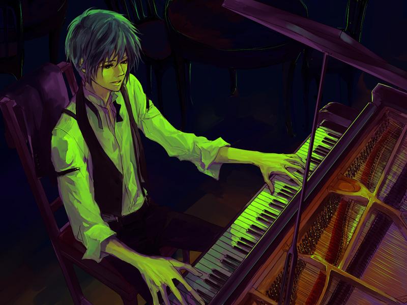 Playing Piano Page 2 Of 14 Zerochan Anime Image Board