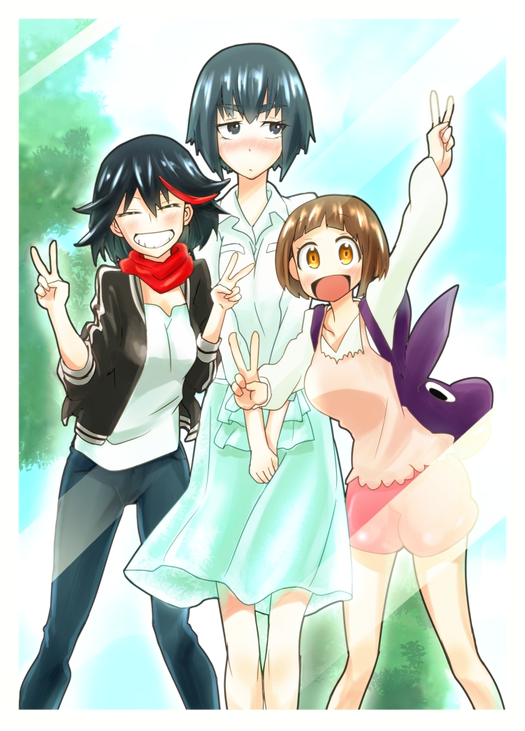 Mankanshoku Mako Mobile Wallpaper Zerochan Anime Image Board