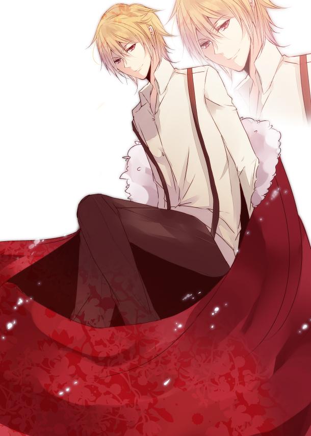 Tags: Anime, Yukinari000, IDEA FACTORY, CLOCK ZERO ~Shuuen no Ichibyou~, Kaga Akira, Mobile Wallpaper