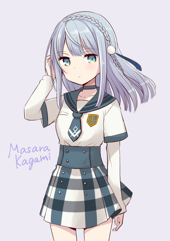 Tags: Anime, Quro, Magia Record: Mahou Shoujo Madoka☆Magica Gaiden, Kagami Masara