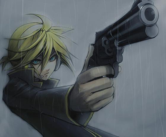 Tags: Anime, Menou Kururu, VOCALOID, Kagamine Len, Aiming To Side, Fanart, Return To Zero, Len Kagamine