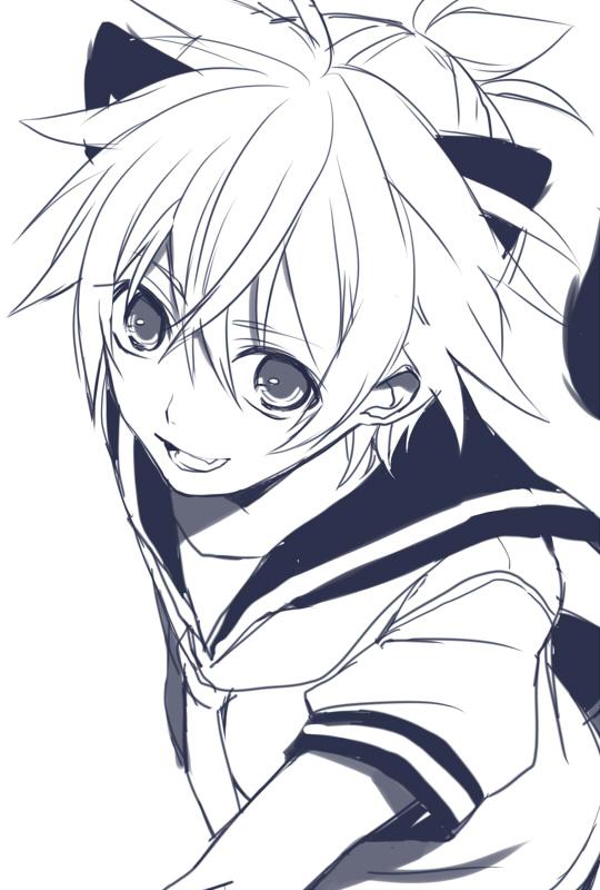 Tags: Anime, Teito, VOCALOID, Kagamine Len