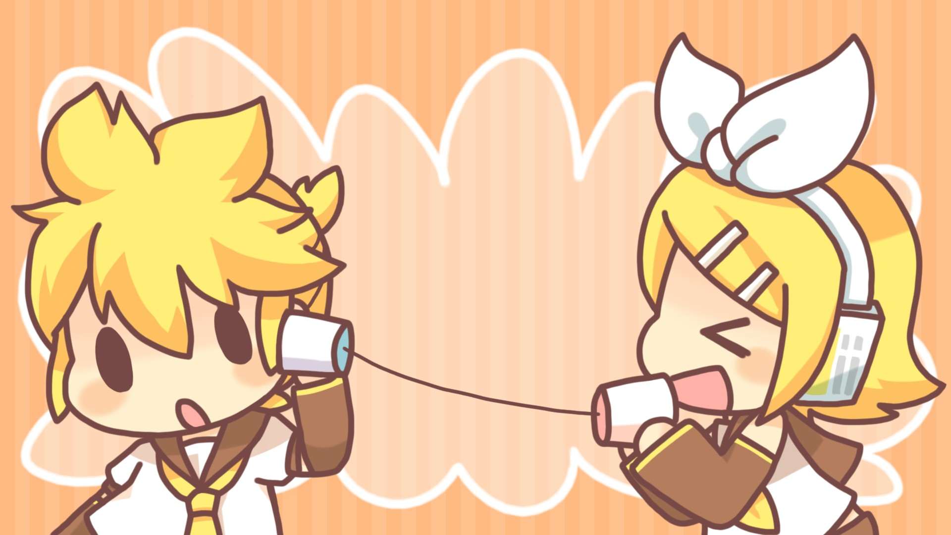 Kagamine Mirrors Vocaloid Hd Wallpaper 1117062 Zerochan Anime