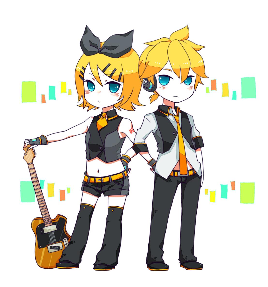 Kagamine mirrors vocaloid image 1295189 zerochan anime image board - Kagamine rin project diva ...