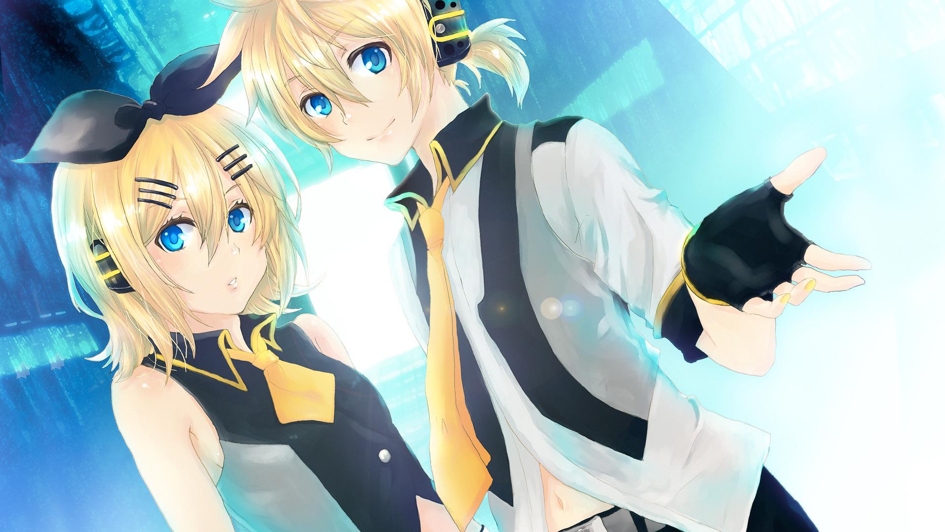 Kagamine mirrors vocaloid wallpaper 1574394 zerochan anime image board - Kagamine rin project diva ...