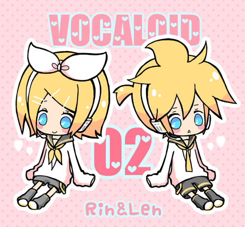 Tags: Anime, Maako, VOCALOID, Kagamine Rin, Kagamine Len, Fanart, Pixiv, Kagamine Mirrors