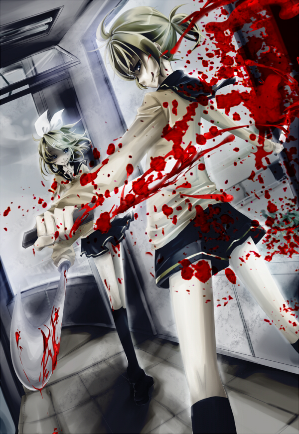 Tags: Anime, VOCALOID, Kagamine Len, Kagamine Rin, Mobile Wallpaper, Kagamine Mirrors