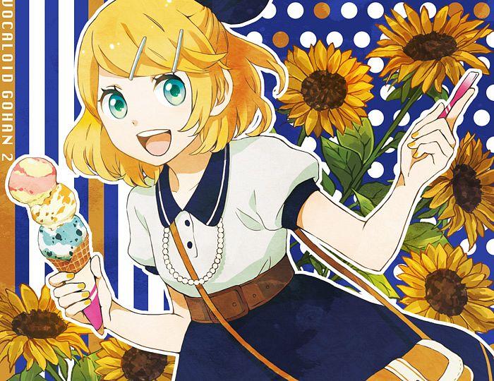 Kagamine Rin/#1217749  Zerochan - Cute Hairstyle
